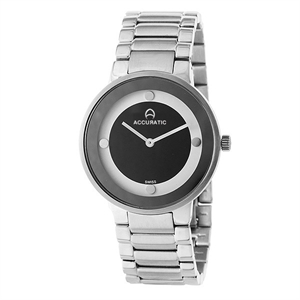 Picture of Accuratic Scope Ladies Stainless Steel  Wrist Watch Swiss Ronda 762 Movement.