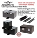 Picture of Accuratic watch winder Four corner connectors with jumper cable.